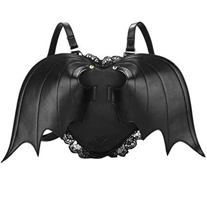 mochila con alas para mujer estilo punk