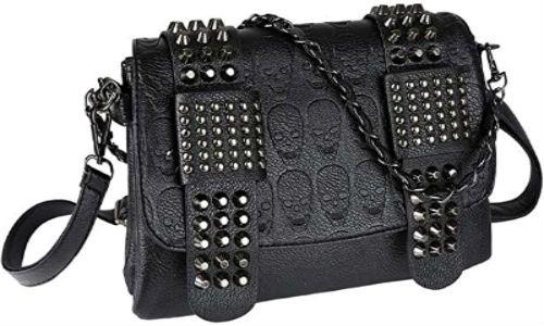 mochila de calaveras para mujer
