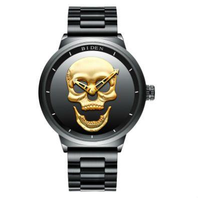 reloj de calavera