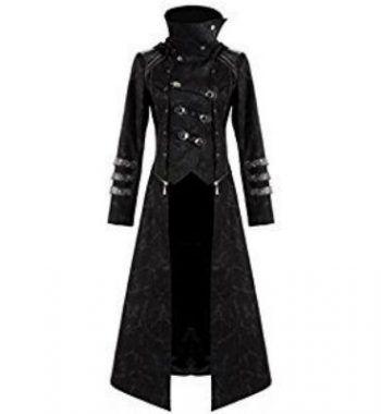 abrigo estilo gotico para hombre