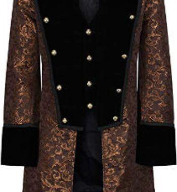 abrigo steampunk para hombre
