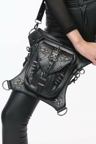 bolso decorativo con calaveras para mujer