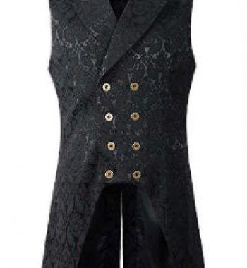 chaqueta de hombre estilo steampunk