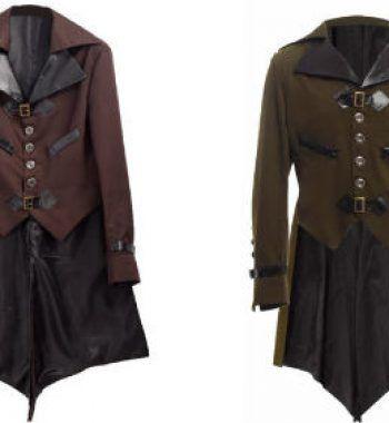 chaqueta estilo gotico para hombre