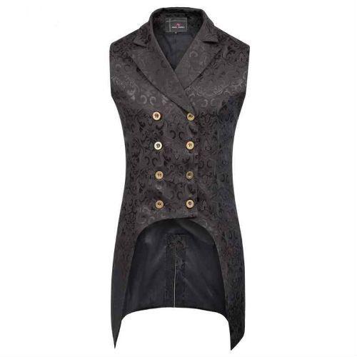 chaqueta estilo punk gotico para hombre