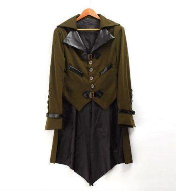 chaqueta estilo steampunk gotico para hombre